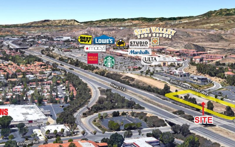 Simi Valley Town Center Gateway Pads